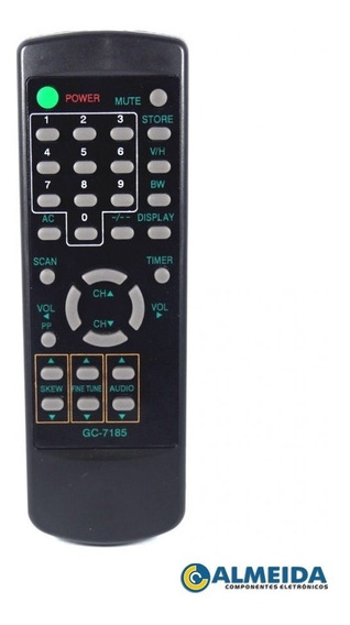Controle Remoto(kit 10 Peças) Tec Sat 3200 E10 303r
