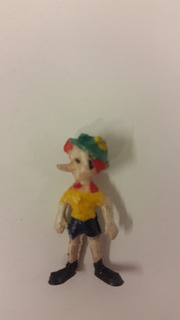 Muñeco Chocolatin Jack Pinocho Disney