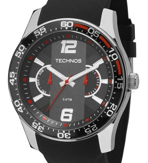 Relógio Technos Masculino Analógico Multifunção 6p25bh/8p