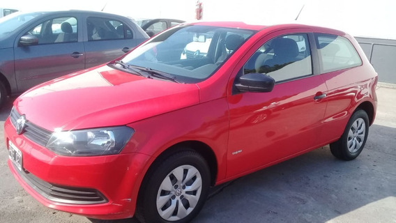 Volkswagen Gol Trend 1.6 2015 3 Puertas Rojo
