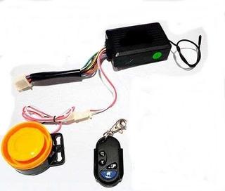 Alarma Moto Manual Con Control Remoto