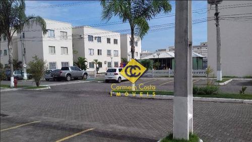 Ótimo Apartamento Com 2 Dormitórios À Venda, 55 M² Por R$ 190.000 - Jardim Mariléa - Rio Das Ostras/rj - Ap0413