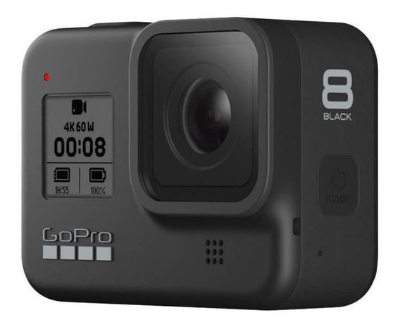 Câmera Gopro Hero 8 Black À Prova Dágua 12mp 4k Wifi