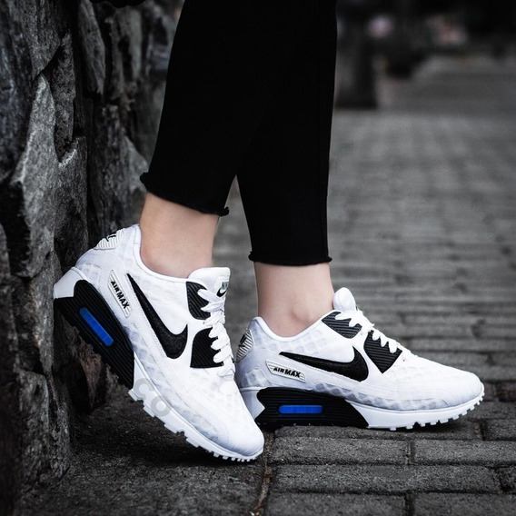 zapatillas blancos nike mujer