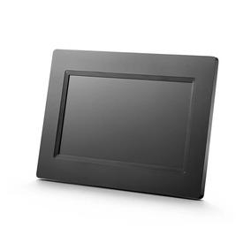 Porta Retrato Digital 7 Polegadas Preto Iluminado Slim Sp260