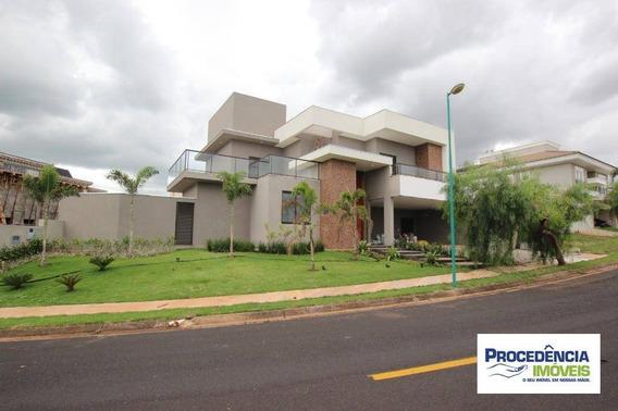 Casa De Alto Padrão Com 4 Dormitórios Para Venda Ou Locação No Residencial Quinta Do Golfe - São José Do Rio Preto/sp. - Ca2269