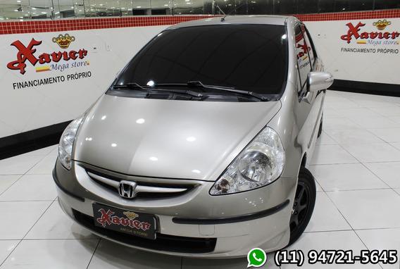 Honda Fit Ex 1.5 Aut 2007 Prata Financiamento Próprio 3531