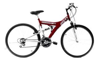 Bicicleta And-es Todo Terreno Rodado 26 Doble Susp 18 Veloc