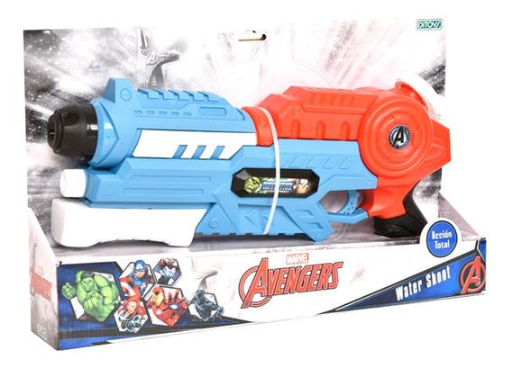 Avengers Pistola De Agua Water Shoot Chica Ditoys