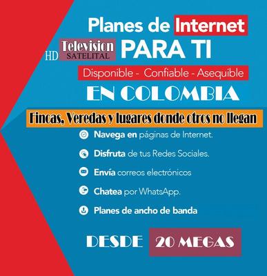 Internet & Televisión Hd Para El Campo (planes Asequibles)