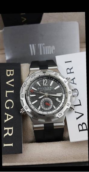 Relógio Bvlgari Gmt Diagono