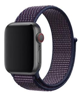 Pulseira Nylon Loop Esportiva Sport Para Apple Watch Series