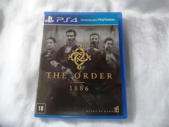 Jogo The Order 1886 Ps4,estado Impecável