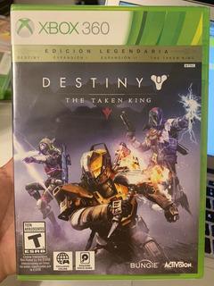 Destiny The Taken King Xbox 360 Físico Nuevo