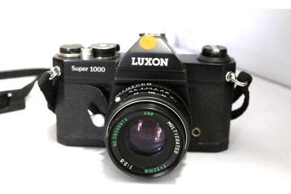 Câmera Fotografica Luxon Super 1000 Lente 50mm Leia Anuncio