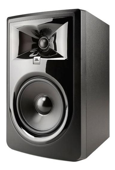 Caixa De Som Acustica Jbl 306p Mkii Ativa Monitor De Estudio