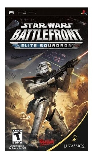 Star Wars Battlefront Es - Psp - Mídia Física - Usado