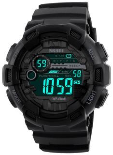 Fanmis Hombres Digital Led Deportivo Reloj Militar Multif