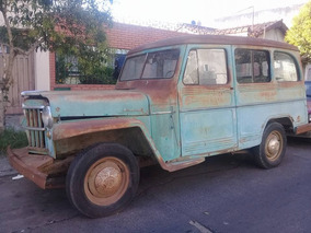 Vendo Estanciera 1957 Ika No Willy , Jeep , Clásico