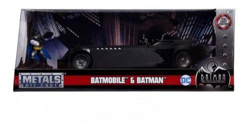 Imagem 1 de 3 de Veiculo Batmobile Serie Des. Animado C/boneco 1/24