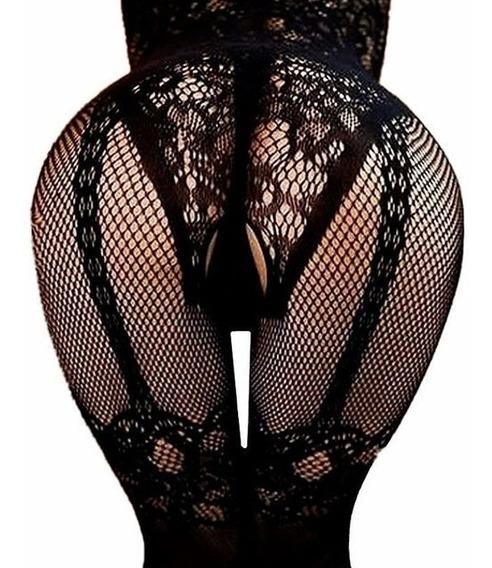 Sexy Lenceria Body Abierto Entre Pierna Exótica Baby Doll