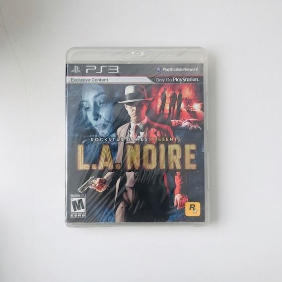 L.a. Noire | Ps3 / Playstation 3 M. Fisica