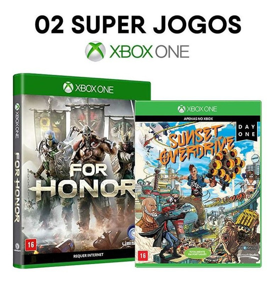 For Honor + Sunset Overdrive - Xbox One - [ Mídias Físicas ]