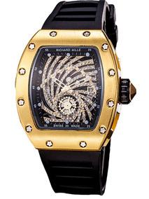 Relojes Richard Mille Esquelético Con Diamantes