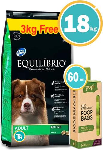 Comida Equilibrio Perro Adulto Med 18 Kg + Regalo Y Envío
