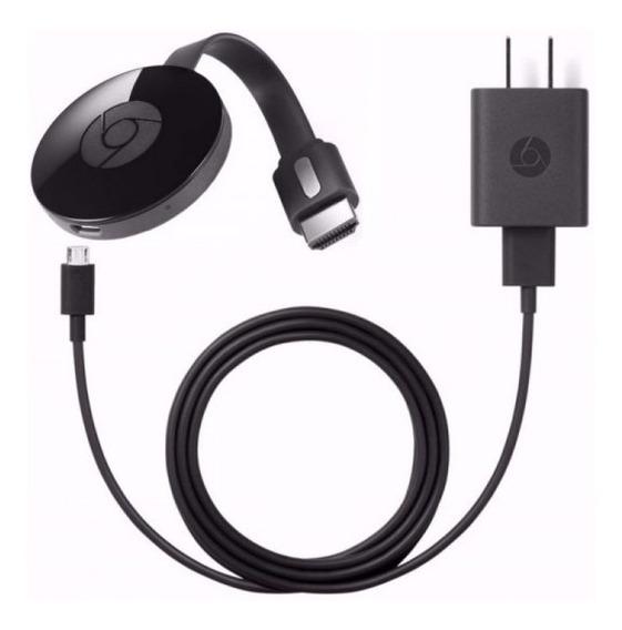 Google Chromecast Original Color Negro Sellado