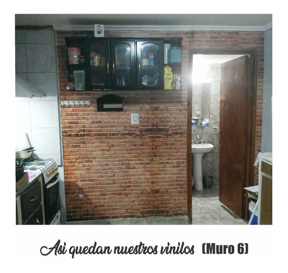 Revestimiento Vinilo Autoadhesivo Ladrillo Piedra Subway