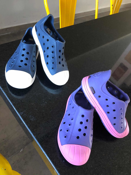 Crocs Importadas (azul), Impecables