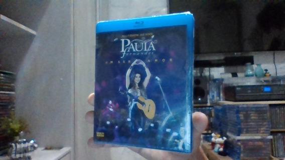 Blu-ray Paula Fernandes Um Ser Amor Lacrado Frete 9 R$