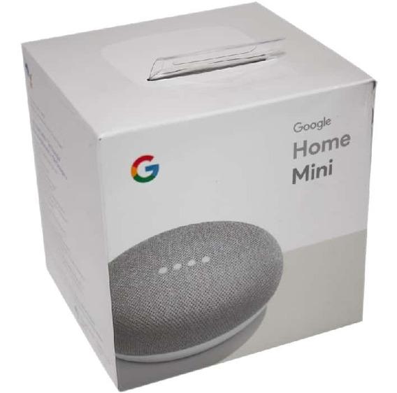 Caixa De Som Speaker Google Home Mini Wi-fi Lacrado