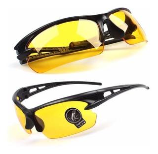 Óculos Bike Ciclismo Proteção Visão Noturna Militar