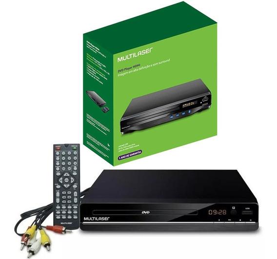 Dvd Player Multimídia Bivolt Cd/dvd/pendrive Sp252