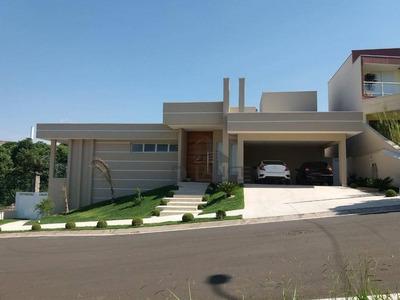 Linda Casa Térrea Com 300m², 3 Suítes, Home Theater, Sala Fitness, 4 Vagas - Ca12599