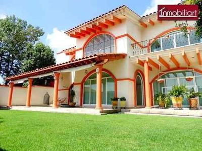 (crm-368-686) Majestuosa Residencia En Venta En Club De Golf La Hacienda Atizapan