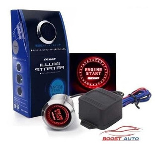 Boton De Encendido Rojo Engine Start Button Red