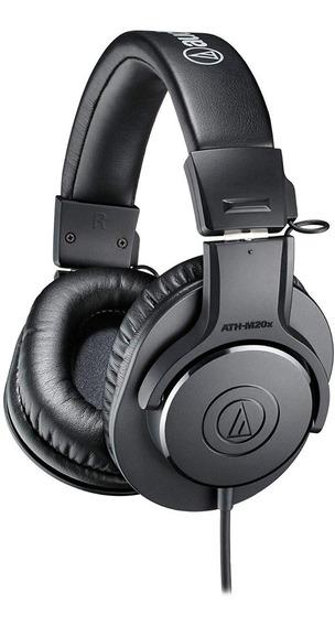 Fone Audio-technica Ath-m20x Profissional C/ Garantia