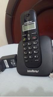 Telefone Sem Fio Intelbras Ts Preto