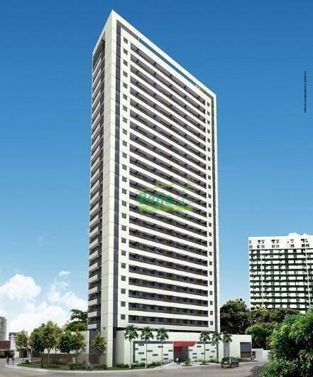 Apartamento À Venda, 31 M² Por R$ 251.000,00 - Soledade - Recife/pe - Ap1411