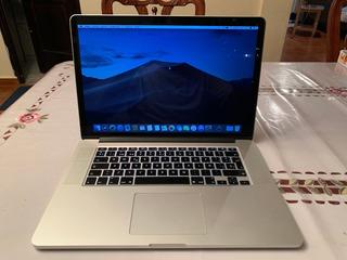 Macbook Pro Retina 15 Inch 2015 Intel Core I7/16ram/512 Ssd