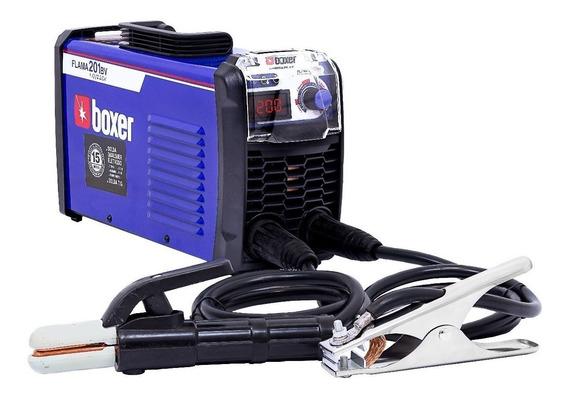 Máquina De Solda Inversora 200a Flama201 Boxer Bivolt