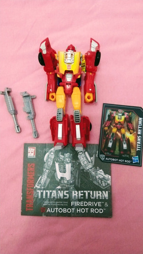 Transformers Titans Return Hot Rod
