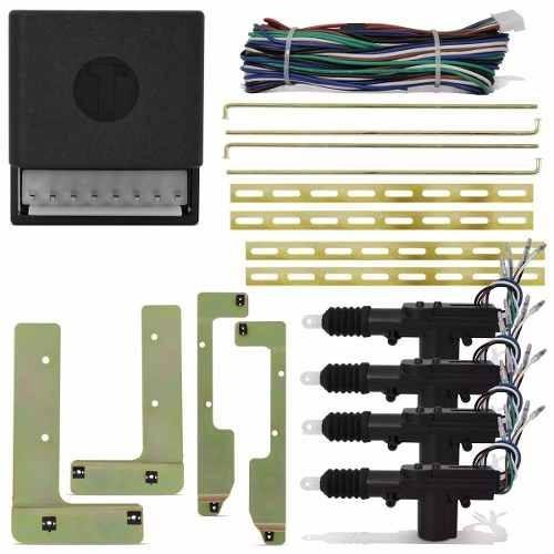 Kit Trava Eletrica Dupla + Suporte Onix Novo Prisma 12 A 15