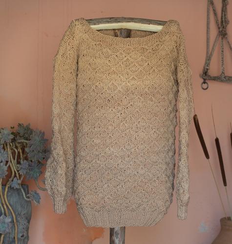 Imagen 1 de 8 de Sweater 100% Fibra Ovina Mod_1