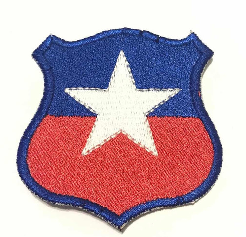 Parche Escudo Chile