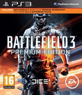 Battlefield 3 Premium Edition Ps3 Digital Gcp