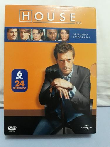 Imagem 1 de 3 de Box Dvd Serie Dr. House - Temp. 2 - Original